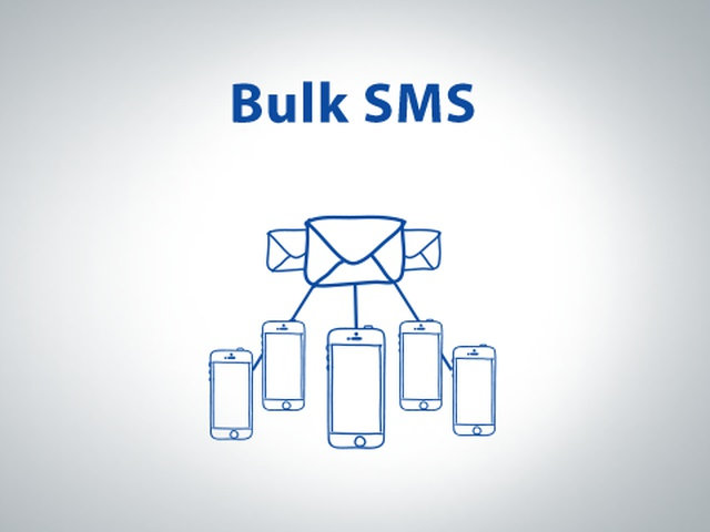 Corporate SMS distribution