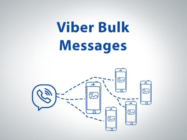 Bulk messaging in Viber